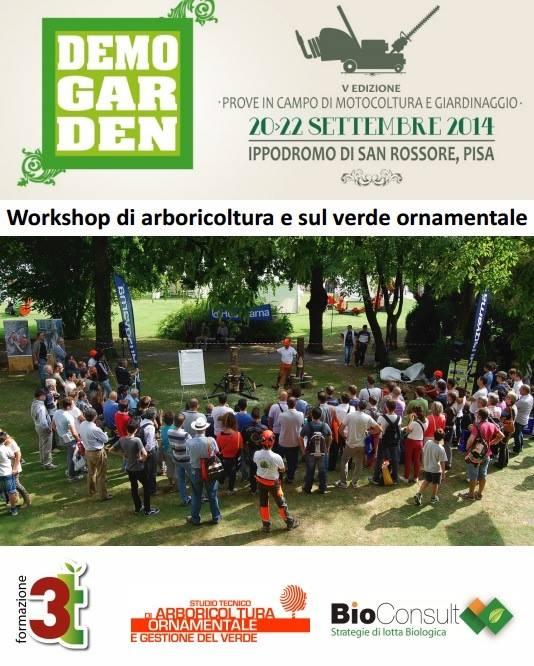 Workshop su arboricoltura e verde ornamentale