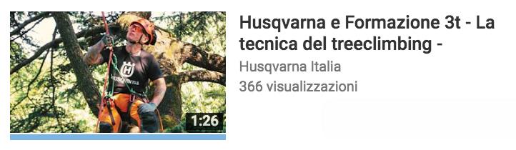 tecnica del treeclimbing